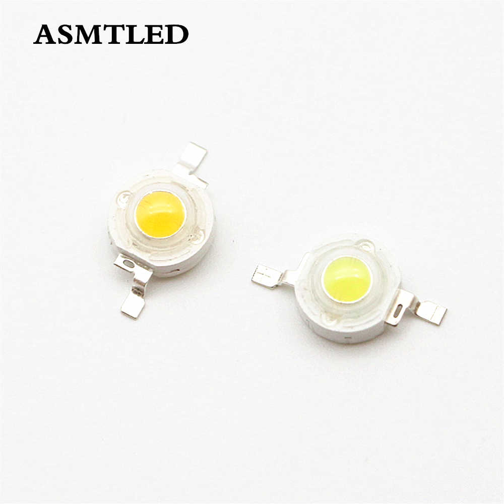 10pcs Real Full Watt CREE 1W 3W High Power LED lamp Bulb Diodes SMD 110-120LM LEDs Chip For 3W - 18W Spot light Down light