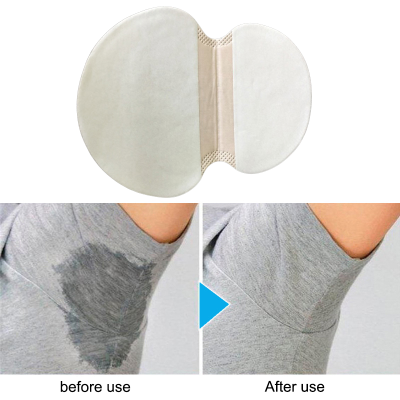 20pcs Disposable Armpit Sweat Pads Underarm Guard Pad Deodorant Stop Perspiration For Summer Clothing Gaskets Unisex