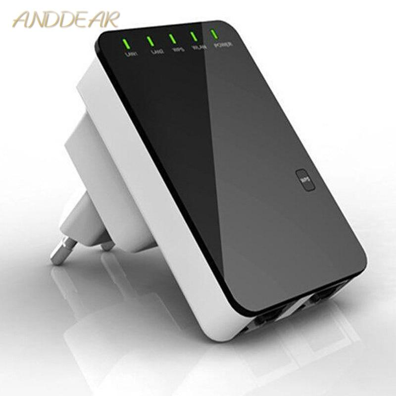 Repeater Wifi Wireless Router Extender AP Booster Amplifier LAN Client Bridge IEEE802.11b / G / N EU Plug Wi Fi Roteador