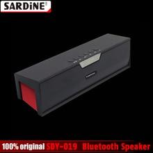 100% Оригинальные сардины SDY-019 Altavoz Bluetooth Динамик Беспроводной HiFi Портативный сабвуфер Колонки Музыка Sound Box с fm Радио