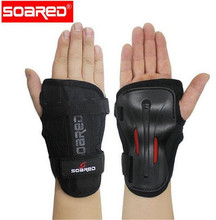 SOARED Men Women Wrist Guards Support Palm Pads Protector For Inline Skating Ski Snowboard Roller Gear Protection