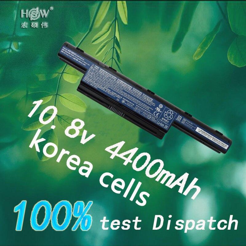 HSW batterie d'ordinateur portable pour acer AS10D31 AS10D51 AS10D81 AS10D75 AS10D61 AS10D41 AS10D71 4741 5742G 5552G 5742 5750G 5741G batterie