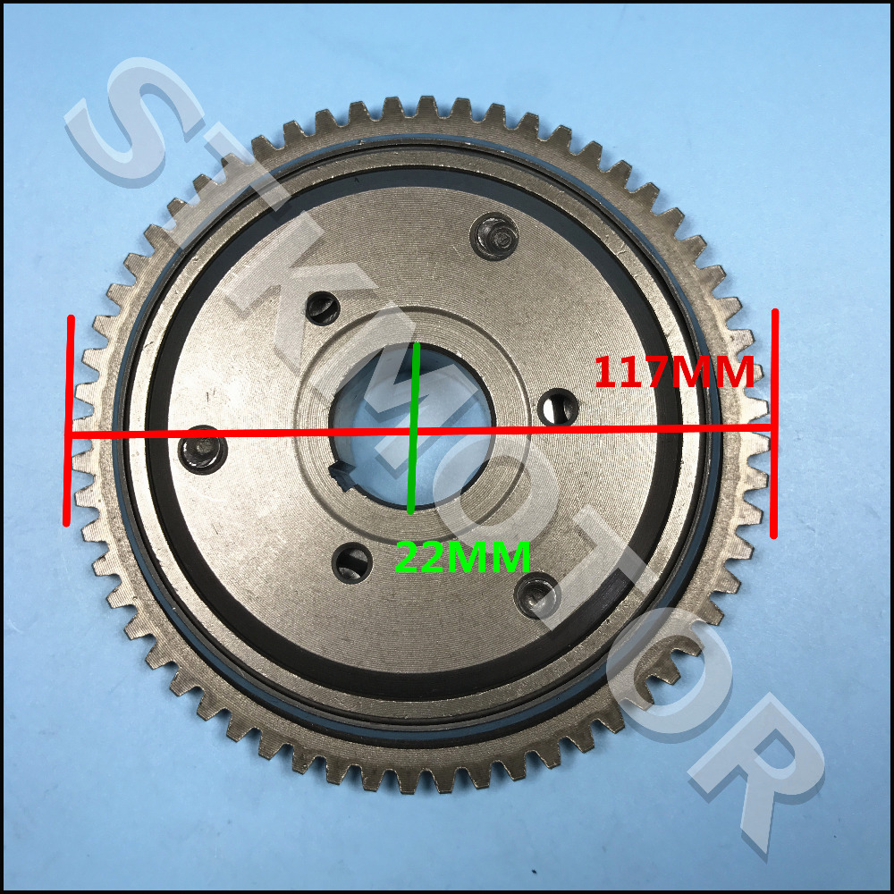 Gy6 125cc 150cc One Way Starter Clutch 152qmi 157qma Atv Scooter Go Kart Parts Hot Sale 50-70% OFF Atv Parts & Accessories Atv,rv,boat & Other Vehicle