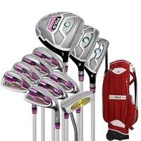 Гольф бренд поло. 11 шт. дамы гольф клубы женщины гольф утюги клубы полный набор