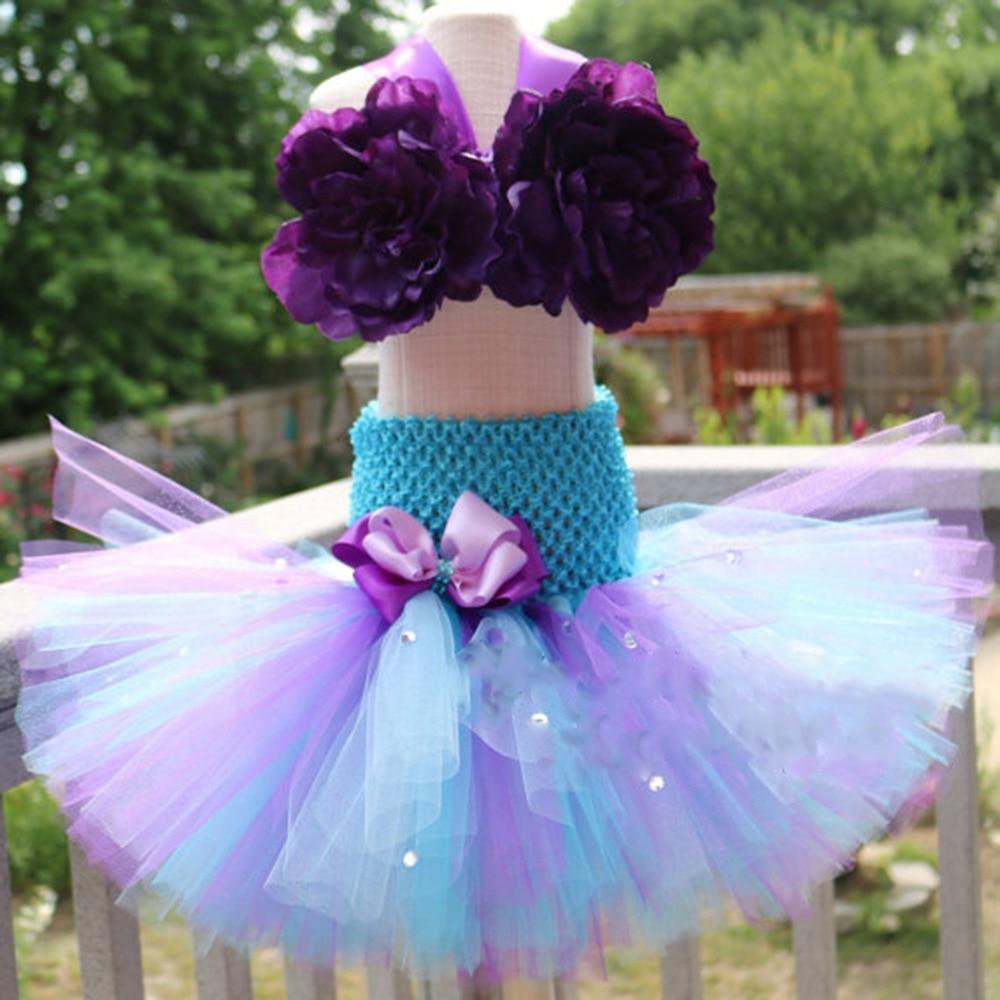 Little Princess Mermaid Girls Tutu Dress with Fish Tail Girls Dresses Age 13 14 Years Old Girls Mermaid Wedding Dresses 3 Pieces (4)
