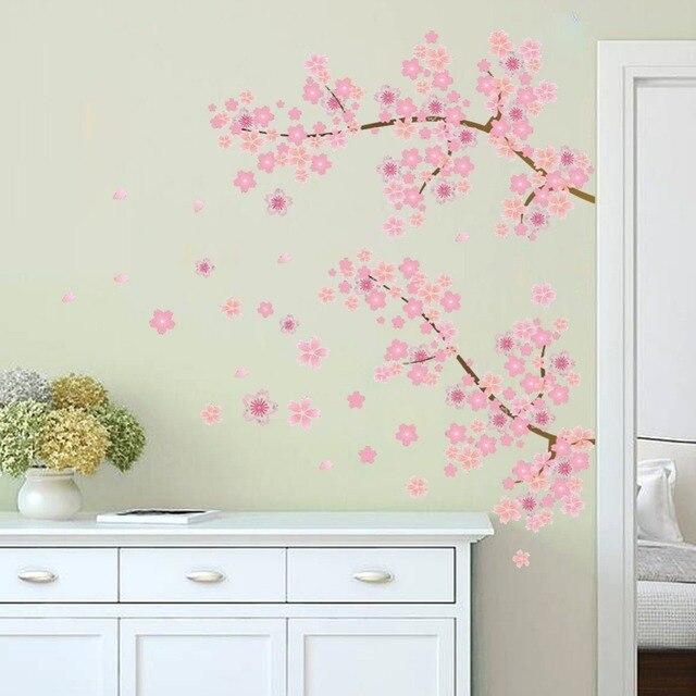 Et Rose De Fleurs De Cerisier Arbre Romantique Jardin Bricolage