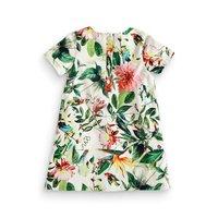 0-5Y Sumer Girl Dress Summer Baby Kids Girl Toddler Tutu Dress Flower Print Dress