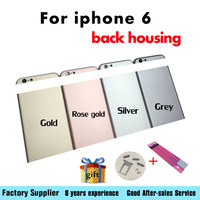 Fundas For IPhone 6 4 7 Chassis Back Housing Battery Cover Coque With LOGO Buttons Sim