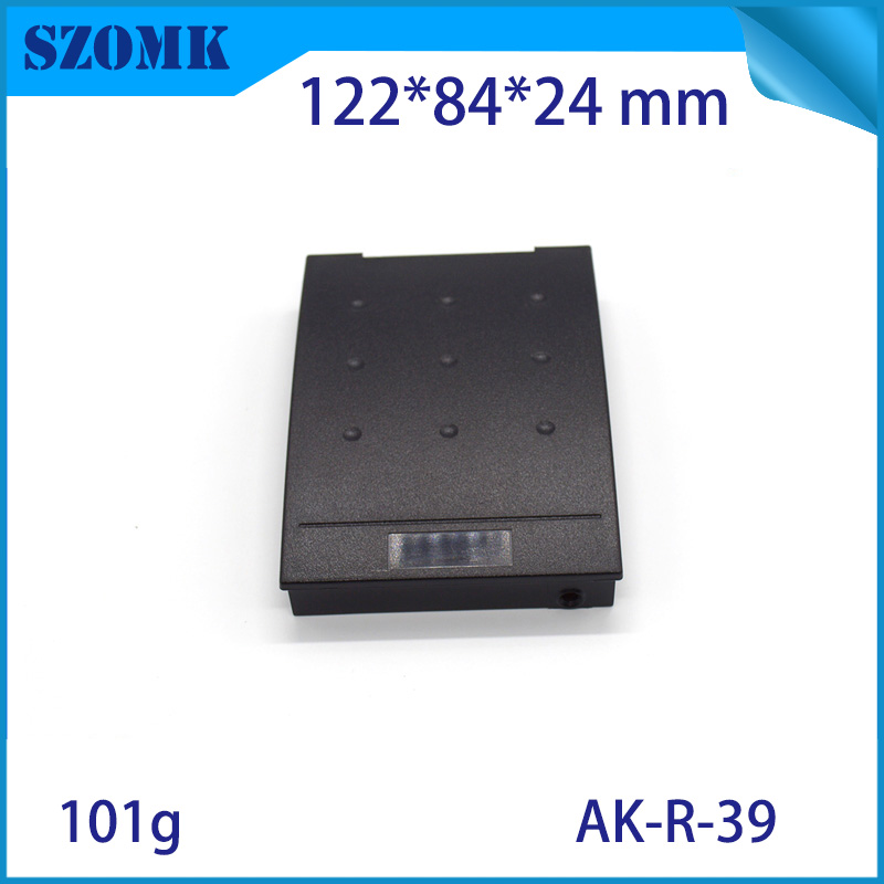 10 pcs 122 84 24mm szomk enclosure for electronic plastic device case abs plastic RFID equipment