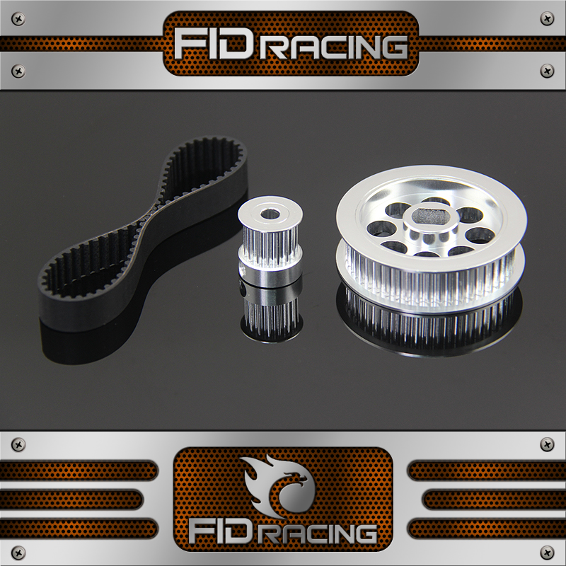 starter belt and pulley big for FID Electric starter losi 5ive t Baja 5b fid rear axle c block for losi 5ive t mini wrc