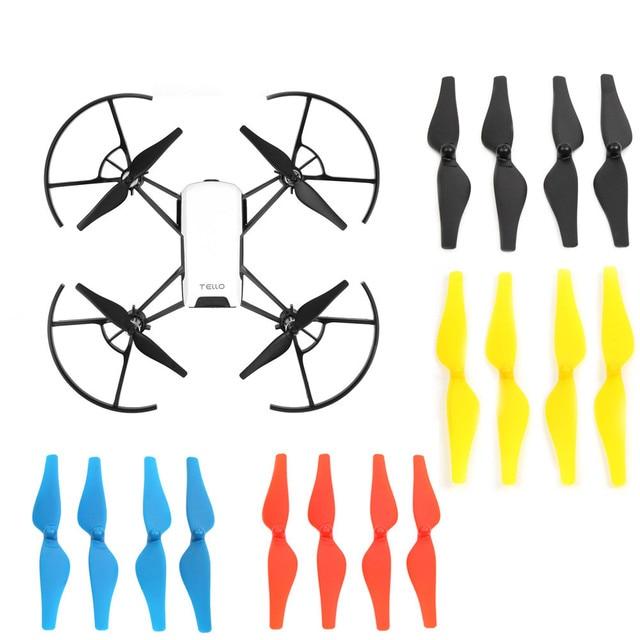 4pcs Quick Release Lock Propellers CCW CW Props Blades For DJI Tello Mini Drone 6J8 drop shipping