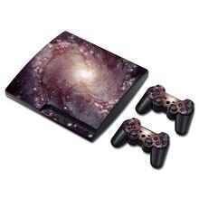 Proteção cobertura completa adesivo de pele para PS3 slim