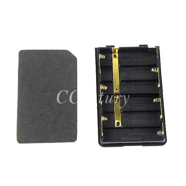 bilder für FBA-25A Batterie Fall Shell-Pack für Yaesu CB Radio Walkie Talkie VX-110 VX-120 VX-127 VX-130 VX-132 VX-146 VX-150 VX-160 VX-168
