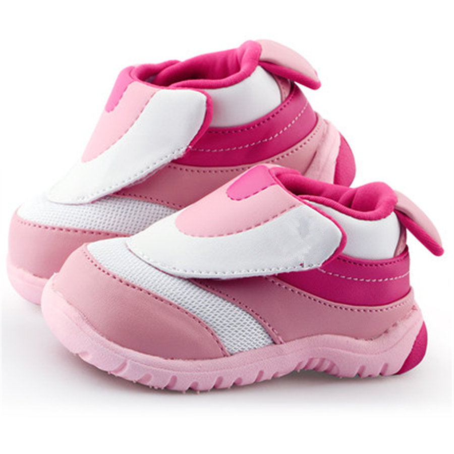 Soft Sole Girl Baby Shoes Cotton First Walkers 2017 New Cute Fashion Cotton High Quality Baby Quality Baby Shoes 70A1074