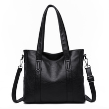 Womens Genuine Leather Bags Handbags Women Famous Brands Large Capatity Casual Tote Ladies Shoulder Crossbody Bags for Women стоимость
