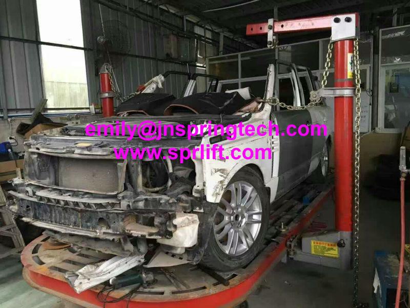 super quality crashed car repaired benchauto straightening equipmentframe machineframe racks for big truck 2017