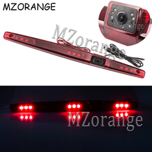 Universal LED Car Reversing Backup Rear View Brake Light Camera Rearview Reverse CCD Parking