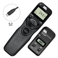 Pixel TW 283 S2 Wireless Timer Remote Contro shutter remote control For Sony A900 A850 A700 A580 A77 A65 A57 A55 A37 A35 A33 A58