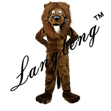 Lion mascot costumes for adults christmas Halloween Outfit  Free Shipping