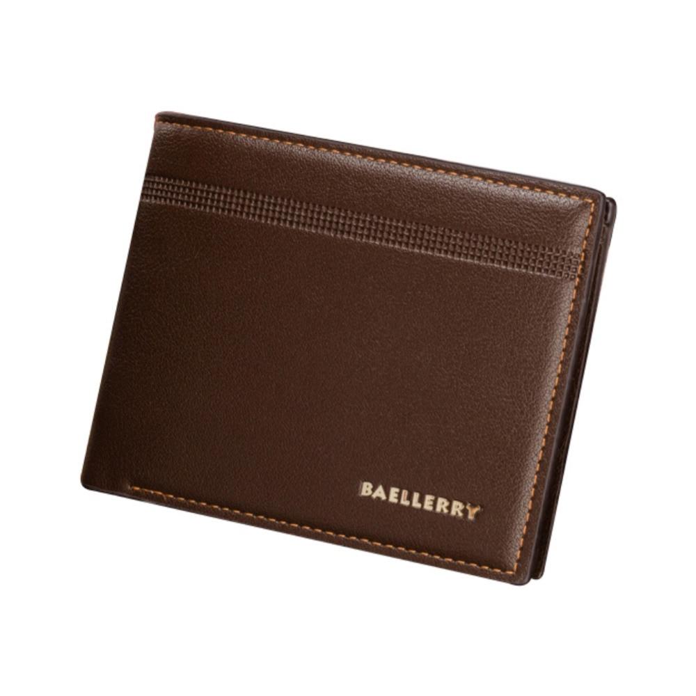 Leather Slim Men Wallet With ID Credit Card Holder Storage Purse Luxury Brand Multifunctional Short Wallet Men Fashion wallet