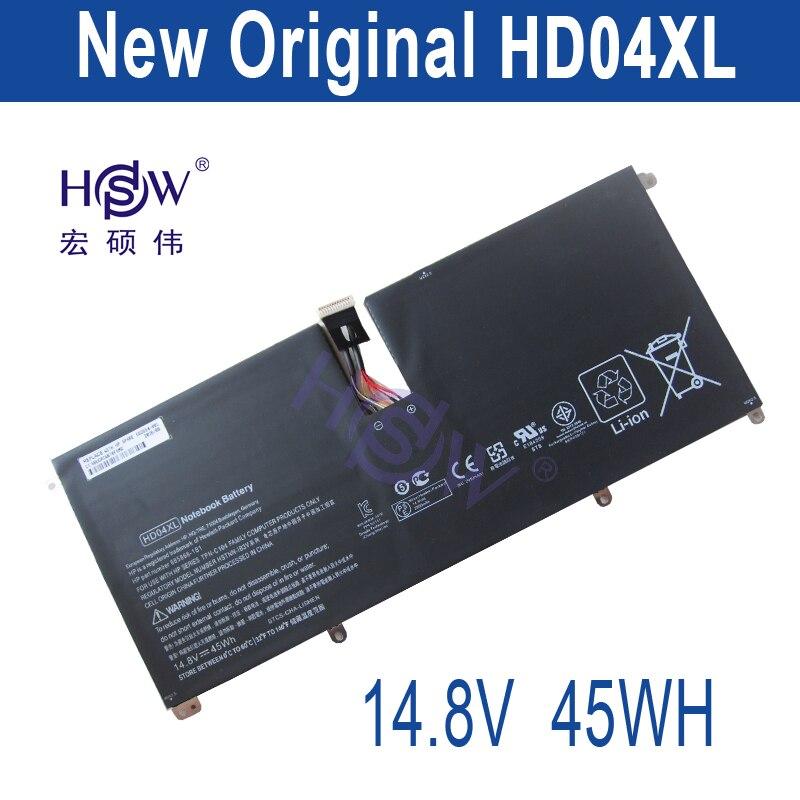 HSW новый 14,8 В 45Wh HD04XL Батарея для Hp Envy Spectre Xt 13-2021tu Xt 13-2000eg Xt 13-2120tu 685866-1b1 685866- 17