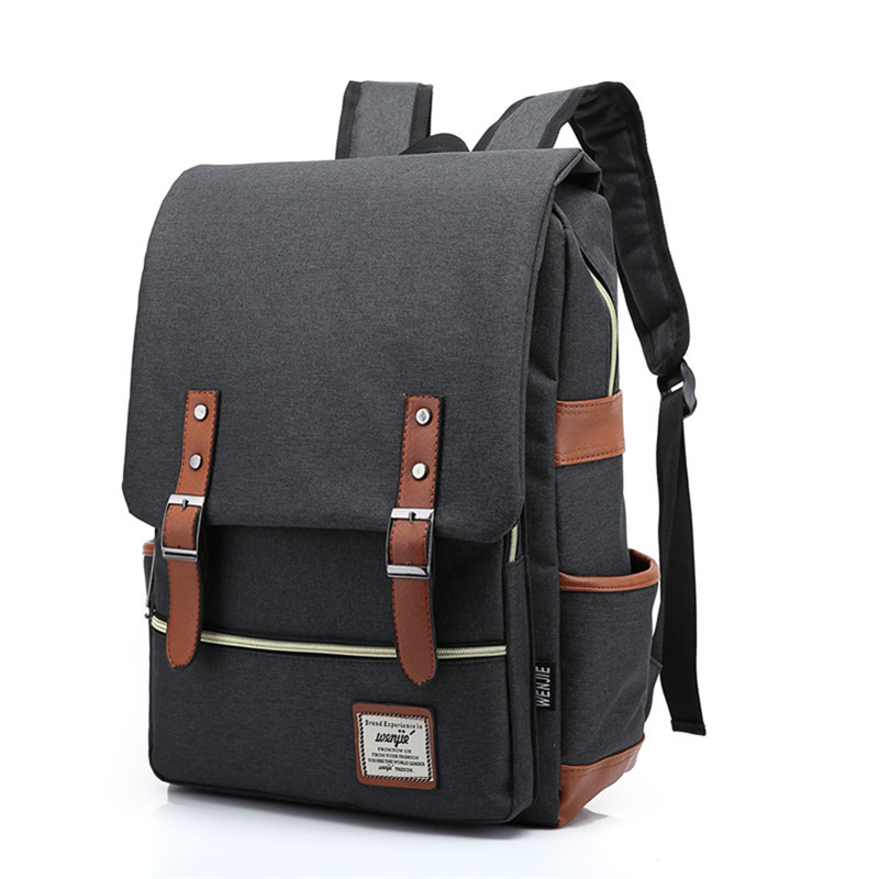 ФОТО Classic School Bag For High School BackPack Women's Casual Daypacks Men Laptop Backpack Nylon Backpack Travel Backbag
