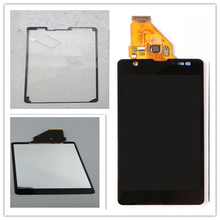 For SONY Xperia ZR Display with Touch Screen Digitizer Assembly Replacement For SONY Xperia ZR LCD M36h C5502 C5503 4 6 white or black for sony xperia z3 mini compact d5803 d5833 lcd display touch digitizer screen assembly sticker