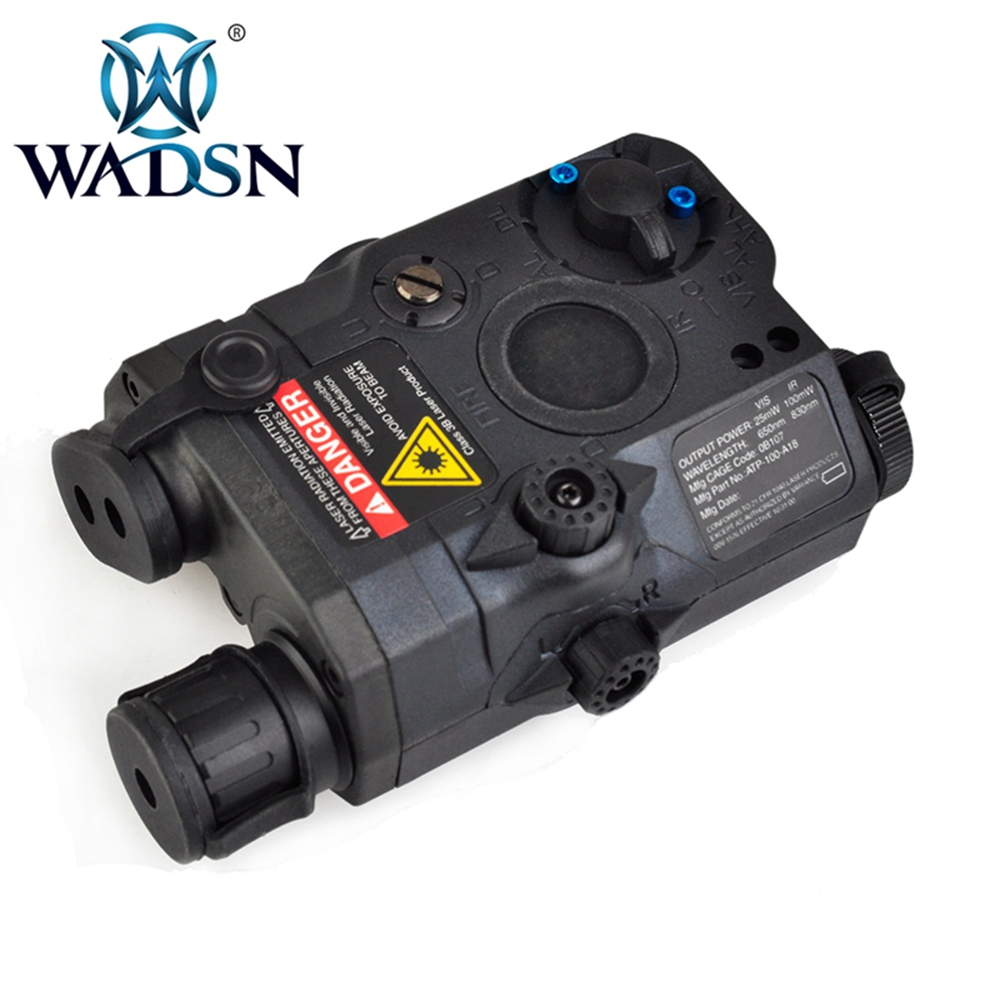 Image 2 - WADSN Weapons Airsoft LED light Tactical kit includes LA 5/PEQ 15 Red IR Laser & WMX200 Flashlight &Double Remote Control WEX418-in Weapon Lights from Sports & Entertainment