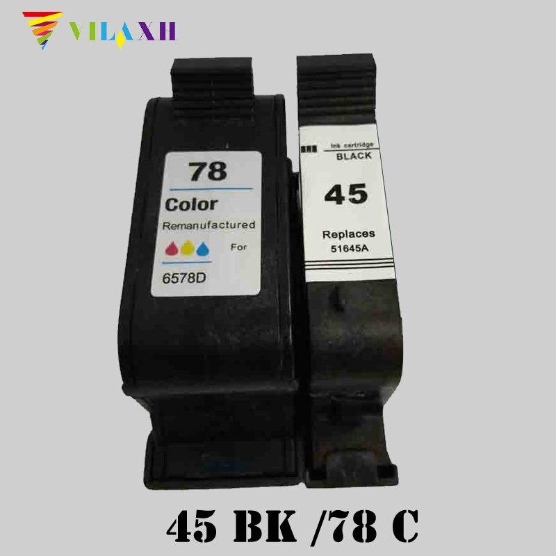 Cartuchos de Tinta 3820 3822 6127 920c 940c Cartridge Model : For Hp45 78