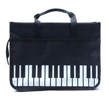 2019 New Handbag Piano Keyboard Printing Linen Shopping Casual Laptop Bag Oxford Cloth Pouch Bolso de Mujer travel