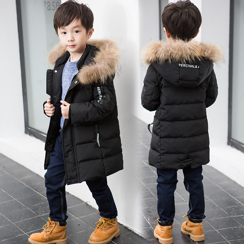 Baby Boys Jacket 2018 Autumn Winter Jacket For Boys Children Jacket Kids Hooded Warm Outerwear Coat For Boy Clothes 160cm