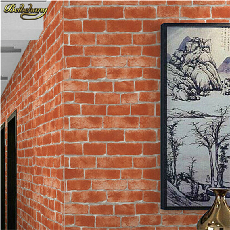 beibehang contact paper papel de parede modern brick wall wallpaper roll 3d pvc wall coverings vintage wall paper decoration beibehang rural flowers papel de parede 3d non woven wallpaper papel parede mural wall paper roll contact paper papel contact