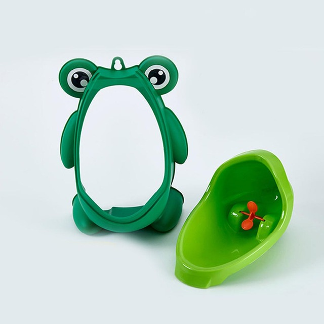 Russia Shipping Baby Boy Potty Toilet Training Frog Children Stand Vertical Urinal Pee Infant Wall-Mounted Potty BM88