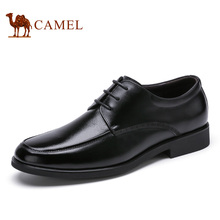 Camel мужские деловые обувь 2016 новое прибытие офис вечернее платье обувь мужчины корова кожаные ботинки на шнуровке A632248100