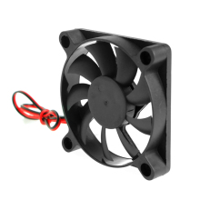 DC 12V 2-Pin 60x60x10mm PC Computer CPU System Sleeve-Bearing Cooling Fan 6010 Drop ship