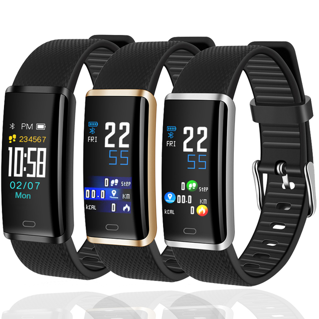 Time Owner R9 Smart Bracelet HeartRate Monitor MultiSport Pedometer Fitness Tracker Message Push IP67 Waterproof Smart Wristband
