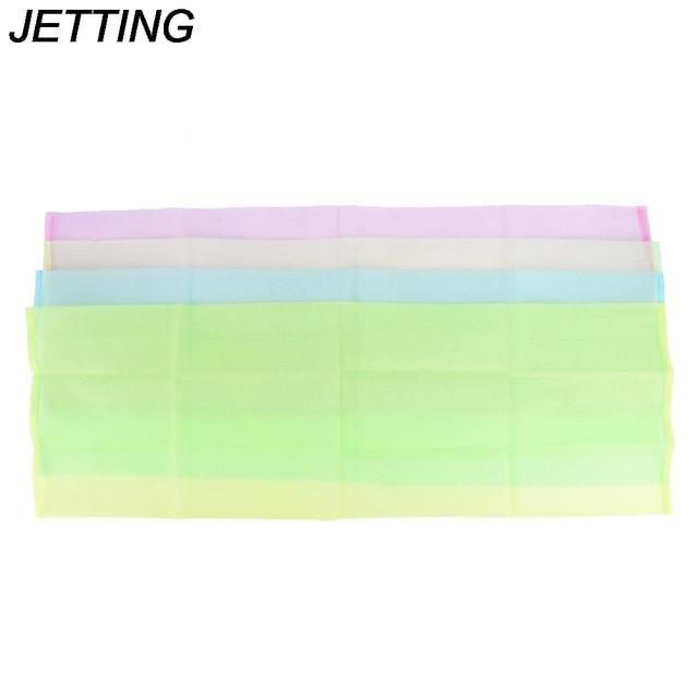 Hot 1pcs Nylon Japanese Exfoliating Skin Bath Shower Wash Cloth Towel Back Scrub Body Cleaning Washing Sponges & Scrubber 3