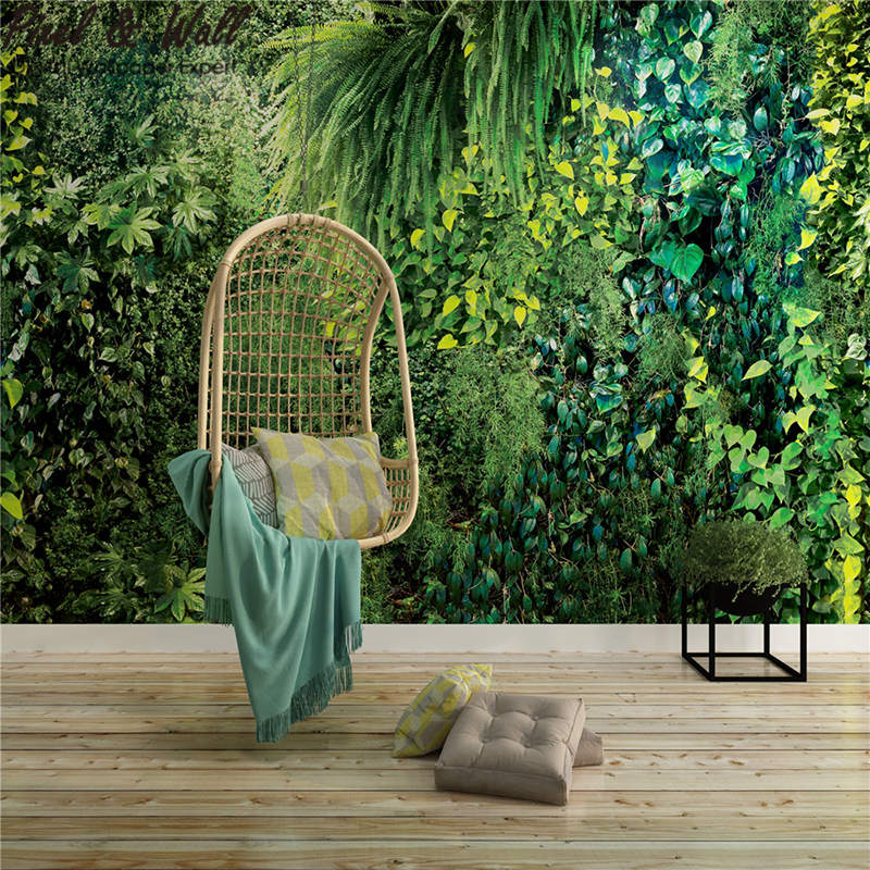 Jungle Wallpaper Mural Decoration Wall Sticker For Living Room Modern Is Nordic Decoration Home STDM30677