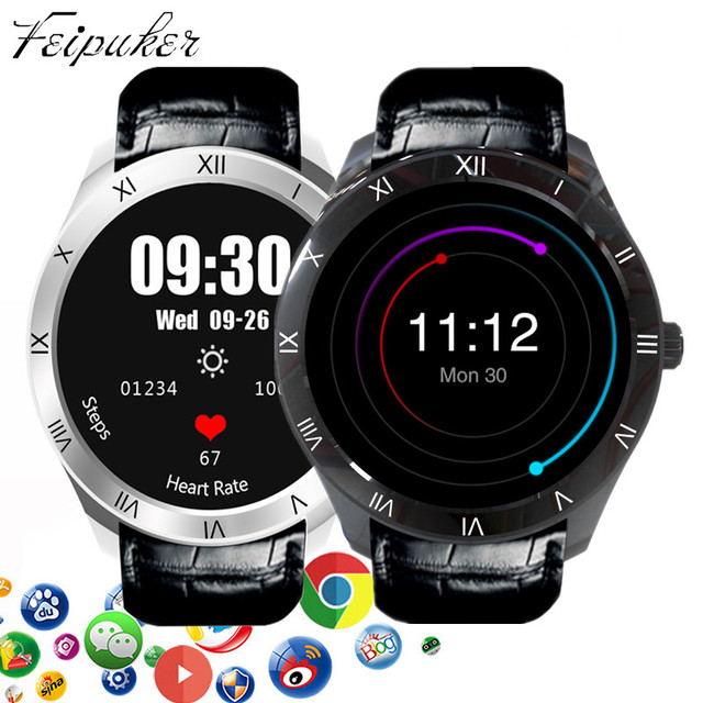 Мода 2017 г. finow Q5 Смарт-часы Android 5.1 512 МБ + 8 ГБ BT 3 г Wi-Fi SmartWatch для iOS и Android телефон PK KW88 часы Apple Watch