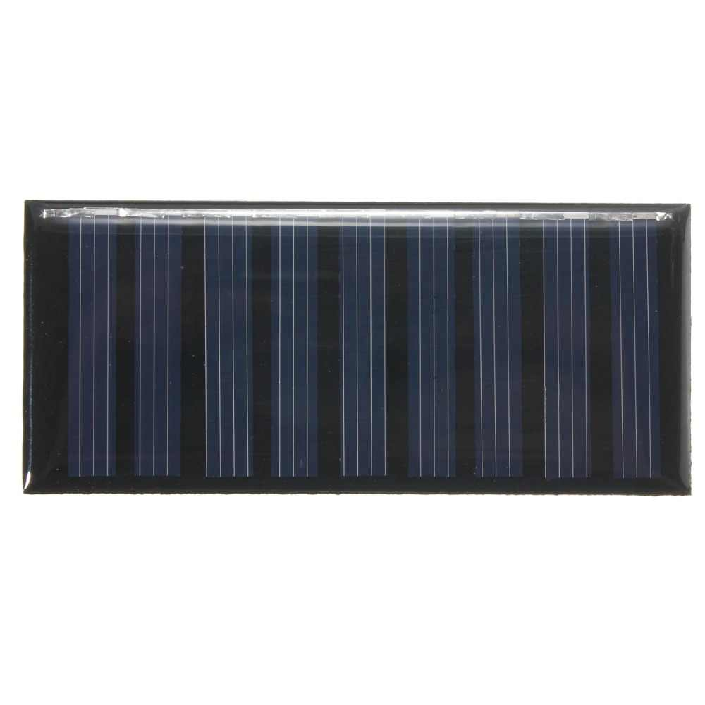 Солнечная панель своими руками 5 V 0,5 W 100 mAh поликристаллический кремниевый эпоксидный Мини-аккумулятор для зарядки мобильного телефона оптом