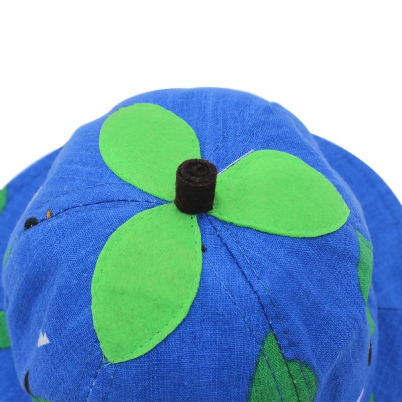 c4778fd26cb Χαριτωμένο καλοκαίρι καπέλο καροτσάκι για κορίτσι αγόρι Cartoon ...