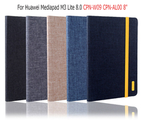 Fashion Smart Case For Huawei Mediapad M3 Lite 8 0 CPN W09 CPN AL00 Cover Funda