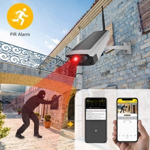 Image 5 - Cámara de videovigilancia con panel Solar, batería recargable 1080P, Full HD, seguridad interior, WiFi, cámara IP, vista panorámica