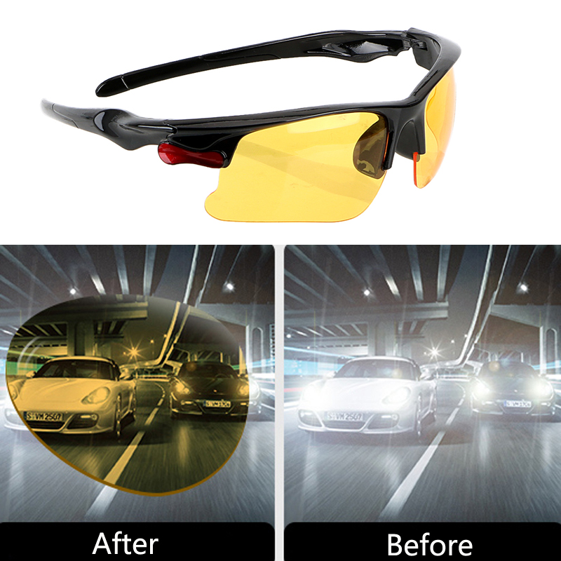 Night Vision Drivers Goggles Sunglasses Car Driving Glasses For HYUNDAI IX35 Solaris Opel Mokka kia sportage <font><b>Audi</b></font> a4 b8 image