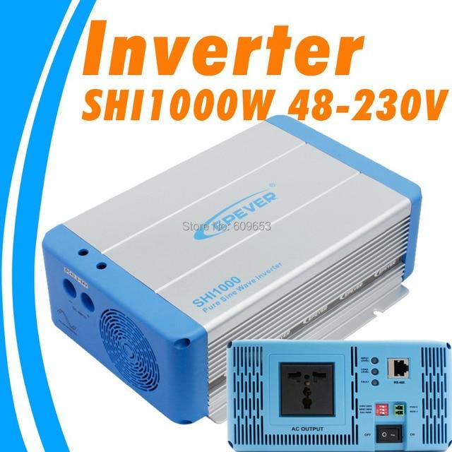 1000W EPEVER SHI1000W 48V Pure Sine Wave Solar Inverter 48Vdc to 220VAC 230Vac 50hz 60hz PV inverter Australia European DC to AC