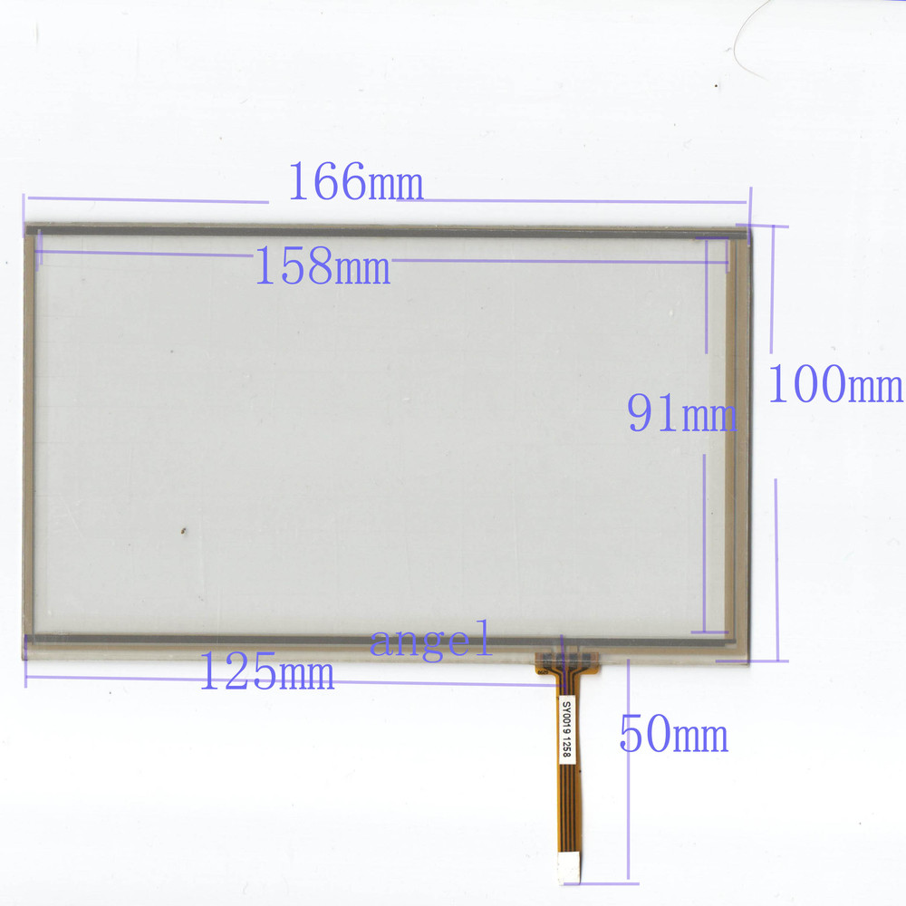 7 inch <font><b>165</b></font> * <font><b>100</b></font> GPS navigation peripheral <font><b>touchscreen</b></font> industrial touch touch screen Clarion Soling E Road, Air image