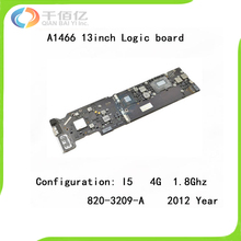 "Used with 100% Working Logic Board for Macbook Air A1466 Mother Board 13"" I5 4G 1.8Ghz 2012 Year 820-3209-A"