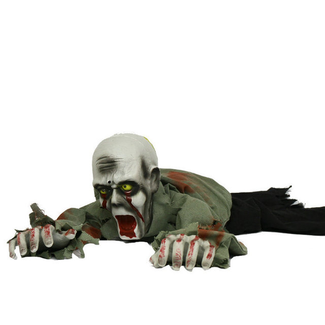 Halloween Decorations Toys KTV Induction Electric Climbing Bar Layout Props Decro Horror Haunted House Ghost For Halloween