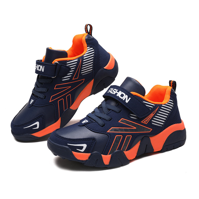 ULKNN Boys Shoes Autumn 2019 New Pupils Travel Shoes Students Sneakers Children's Casual Big Kids Sports Shoes Size 28-38