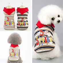 Dog clothes winter pet dog fleece vest thick warm suitable for small and medium dogs adjustable 2XL